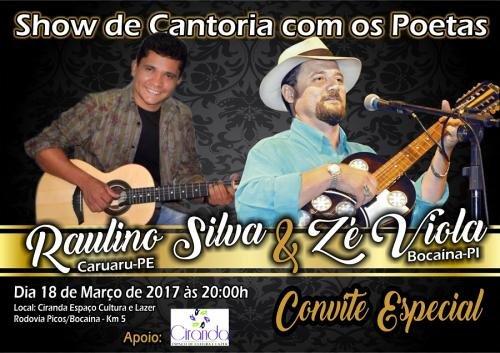 Show de Cantoria no Ciranda - Zé Viola e Raulino Silva